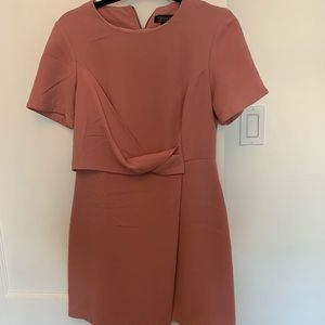 Rose pink topshop dress size 6